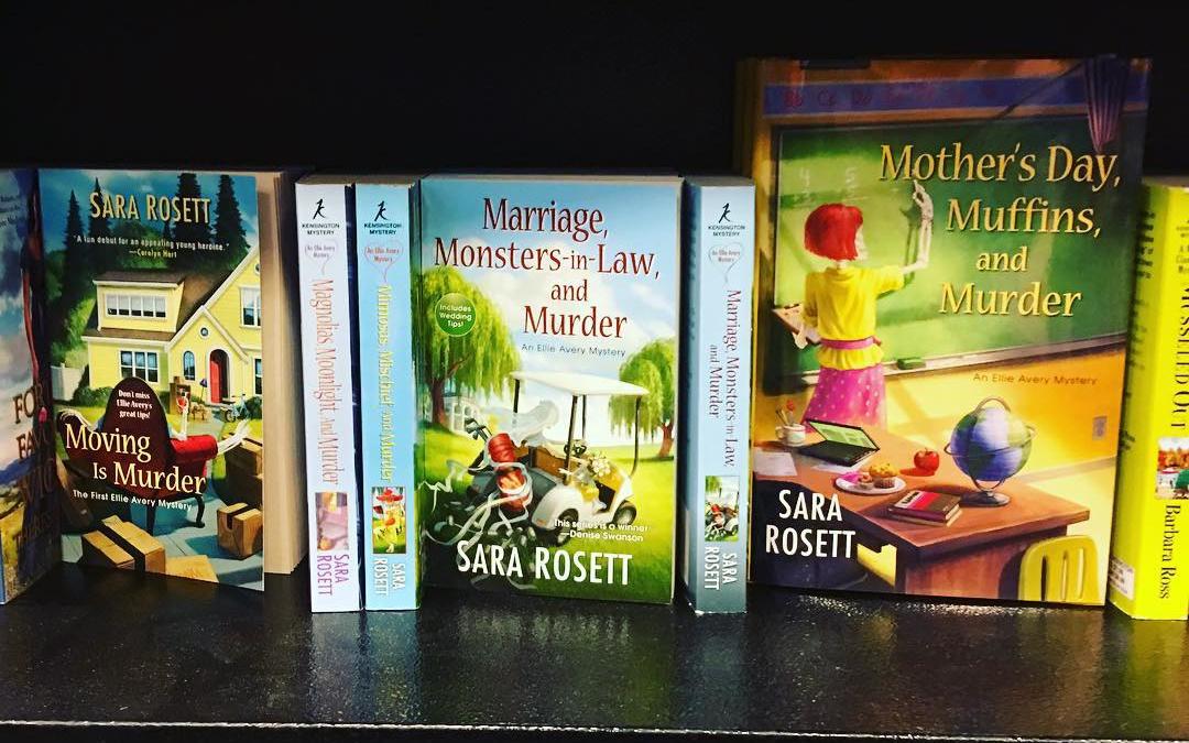 Thank you to @bnchampions for the nice shelf display of the Ellie books! @kensingtonbooks @barnesandnoble