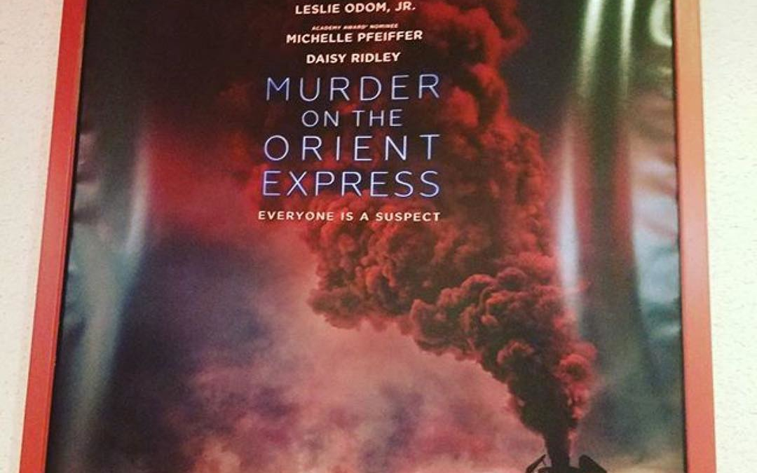 Who is looking forward to the new Murder in the Orient Express movie? @robinagnew (@get_repost) ・・・ Seen at the theatre!  Can't wait