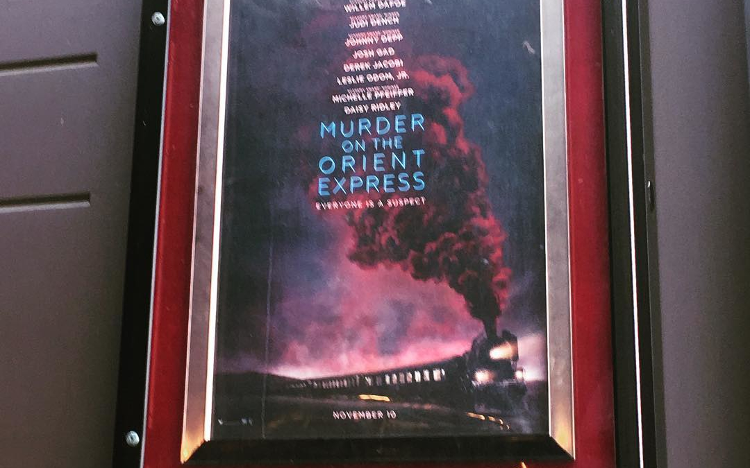 The new Murder on the Orient Express movie gets 7 out of 10 in my book. Loved the clothes and the setting and that they didn't change the culprit(s)—thank goodness. Didn't love the fact that several characters had personality transplants. The story also got the Sherlock movie treatment of increased drama—fisticuffs and an extra stabbing. And why must Christie's detectives have a sad backstory? First Miss Marple and now Poirot. What did you think? Thumbs up or down?