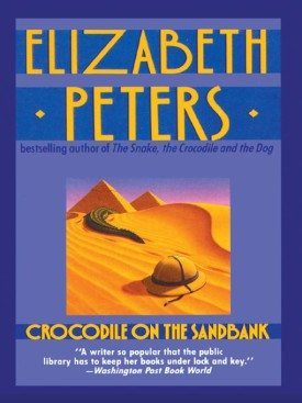 Image credit: http://bookyurt.com/scouting/book-reviews/backlist/crocodile-on-the-sandbank-by-elizabeth-peters-review/