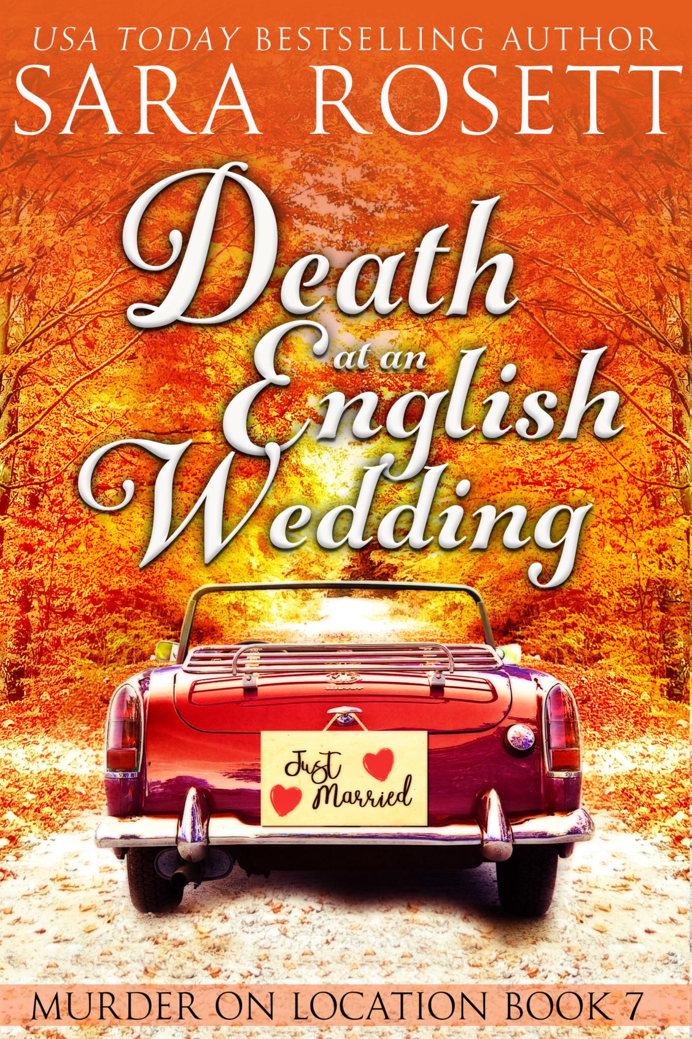 Death at an English Wedding by Sara Rosett Cozy Mystery