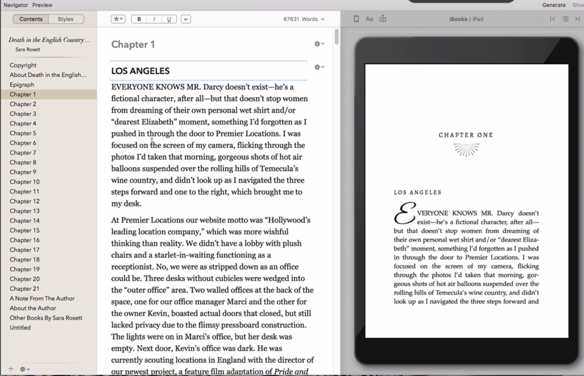 Vellum Preview Pane for Ereaders