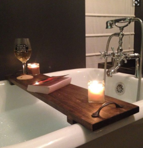 6 Inexpensive Essentials for Reading (and Writing) in the Bath via @BookRiot