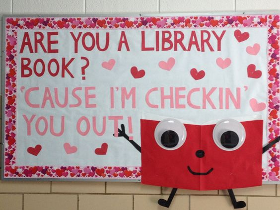 17 Times Libraries Had the Best Valentine's Day Displays Ever via @Bookbub
