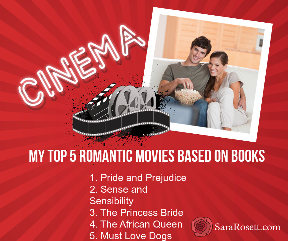 top 5 romantic movies based on books