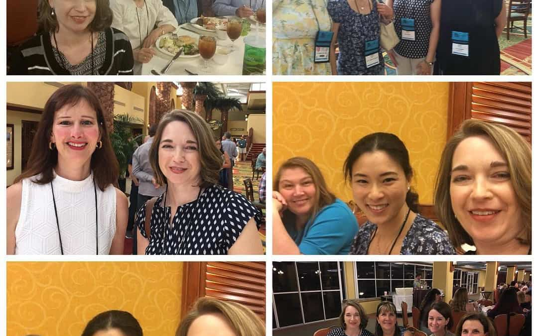 I met so many new writer friends at and reconnected with lots of friends I hadn't seen in years—or only knew through the internet