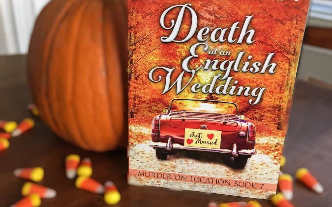 Looking for a fall-themed mystery? ? Check out Death at an English  Wedding?