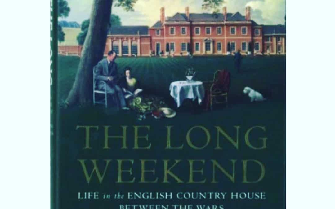 Some research for my current WIP (work in progress). Interesting, but more about the architectural details of the homes then the actual country home weekends. I wanted more juicy details about the weekends themselves