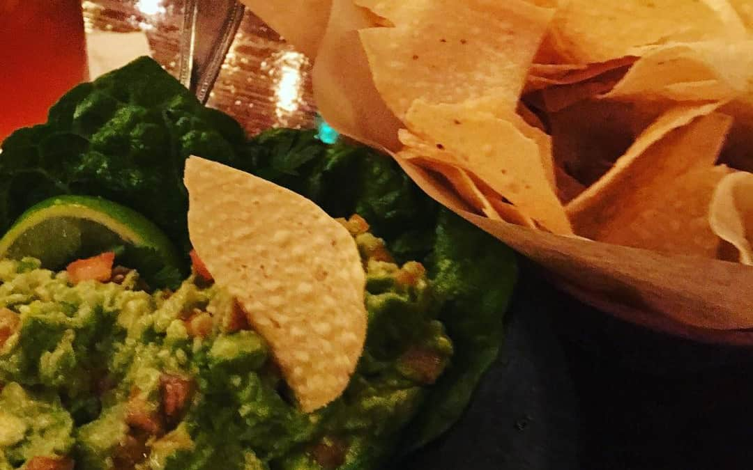 Friday night chips and guacamole. What's your vote: salsa or guacamole?