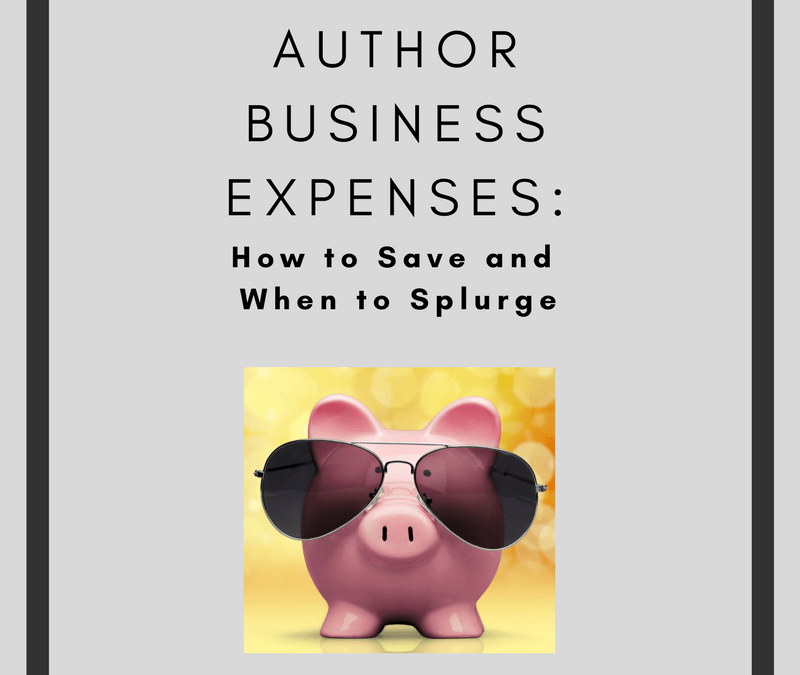 Author Business Expenses: How to Save and When to Splurge