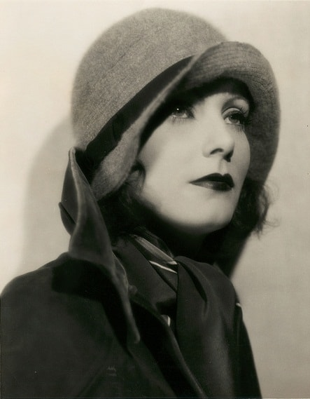 Image result for garbo in cloche hat